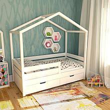 Кроватка-домик Sleepy Home New 160*80 с ящиками