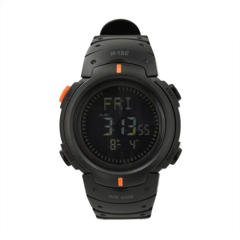 M-Tac годинник тактичні з компасом Black