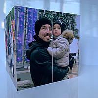 Фотокубик уникальный подарок для любимого человека