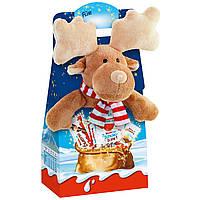 Kinder Maxi Mix з м'якою іграшкою Олень, фото 1