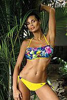 Красивый купальник бандо Marko M 536 Shakira Col 1 42(S) Желтый Marko M 536 Col 1