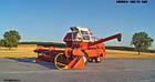 Макет масштабный комбайна зерноуборочного НИВА СК-5 М1, фото 3