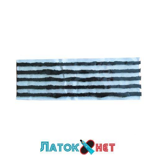 Шнур черный тонкий 3,5 мм х 200 мм (242T) Tech 5 шт/пластина цена за 1 шнур