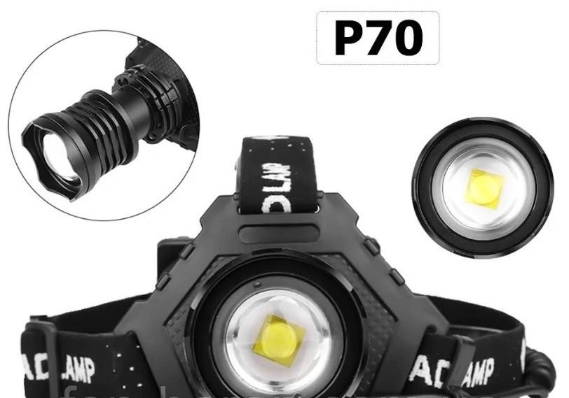 Налобный фонарь Т70-Р70