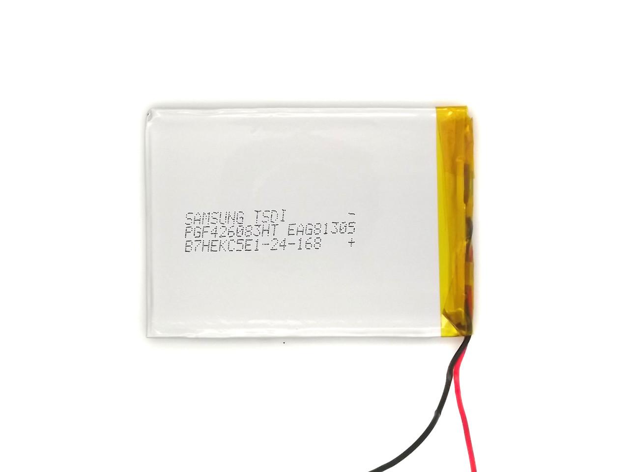 Аккумулятор 2500mAh 3.7v 306084  для планшета