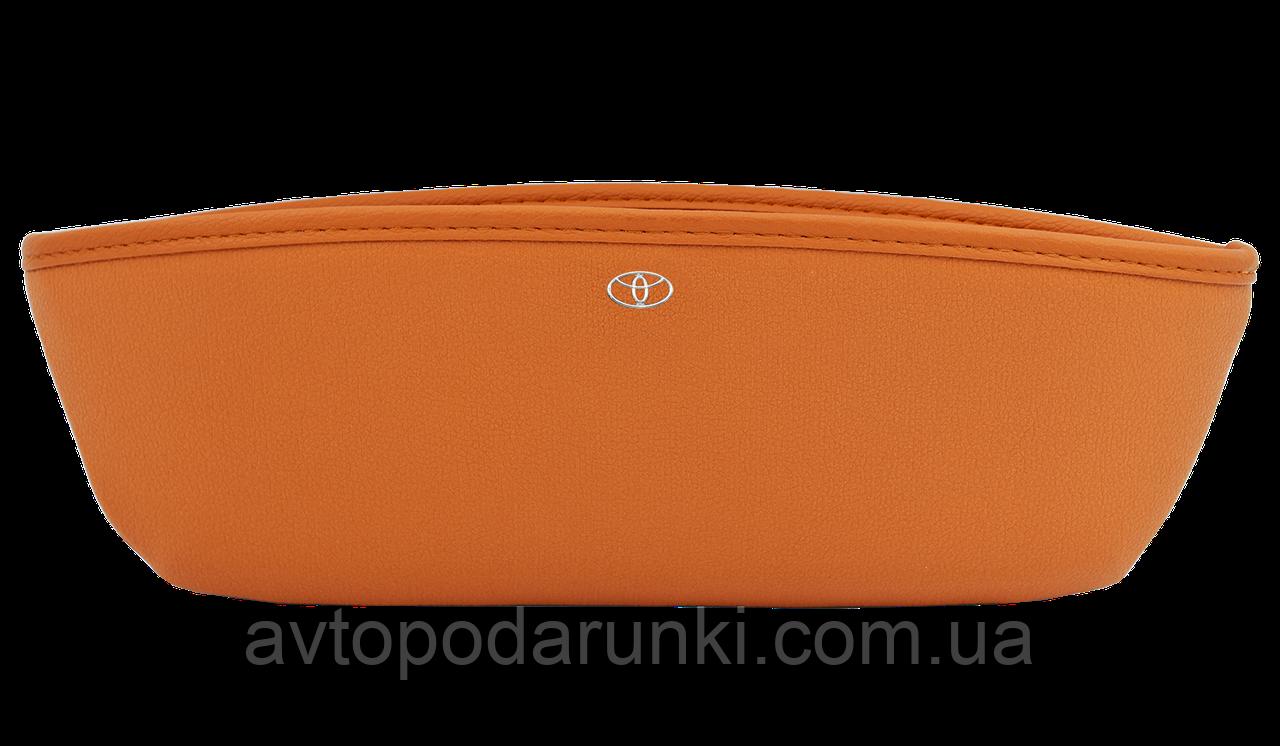 """Автомобильный карман-органайзер с логотипом  авто """"Type-1 Brown"""" TOYOTA"""