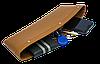 """Автомобильный карман-органайзер с логотипом  авто """"Type-2 Brown"""" MITSUBISHI, фото 3"""