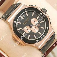 Часы механические с автоподзаводом Bvlgari daniel roth cal 1306 gold black