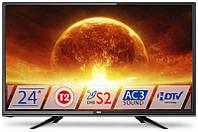 Телевизор Dex LE2455TS2 (для кухни LED, DVB-T2/S/C)