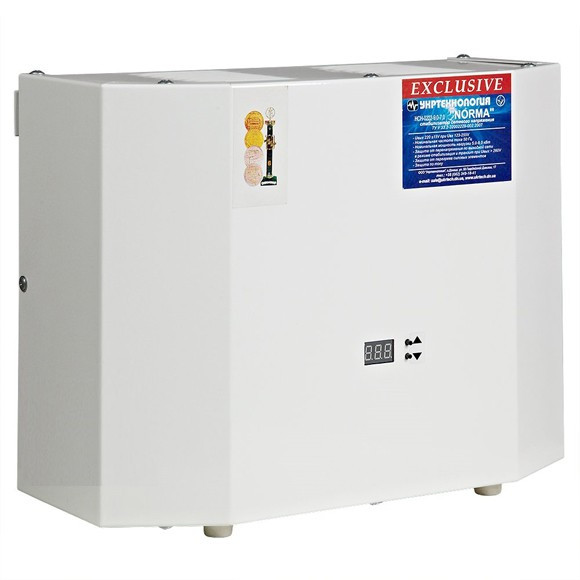 Стабілізатор напруги Norma 15000 Exclusive (15 кВт)