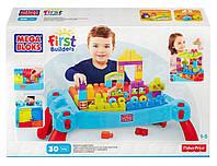 Детский Игровой Развивающий Стол для конструирования Строй и развивайся Мега Блокс - Mega Bloks First Builders, фото 1
