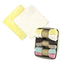 Комплект из 2х банных махровых полотенец 30х30 см SKL11-132173
