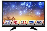 Телевизор Dex LE-2855TS2 ( для кухни/спальни LED, DVB-T2/S/C)