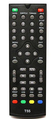 Пульт для тюнера WORLD VISION T55, T55D, T35 DVB T2, T60, фото 2
