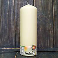 Свеча цилиндр 7х20 см айвори