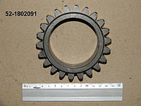 Шестерня мтз раздатки прмежуточная z-22 52-1802091