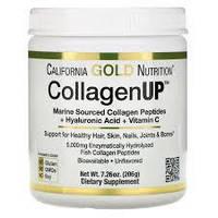 Коллаген для суставов и кожи, коллаген в порошке, California Gold Nutrition CollagenUp 5000 206g