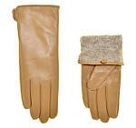 Теплые кожаные перчатки и варежки оптом