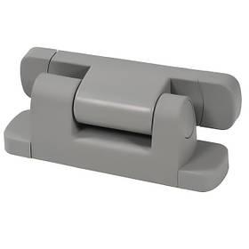 Петля  для двери холодильной камеры Рефсистем Р-34-01 регулируемая с микролифтом Серая  КОД: Р-34-01s