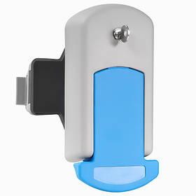 Замок для двери холодильной камеры Рефсистем Р-266 Серо-синий  КОД: Р-266-02