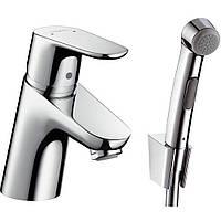Смеситель для раковины с гигиеническим душем Hansgrohe Focus E2 31926000