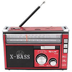 Радіоприймач Golon RX-381 акумуляторний, USB/SD програвач