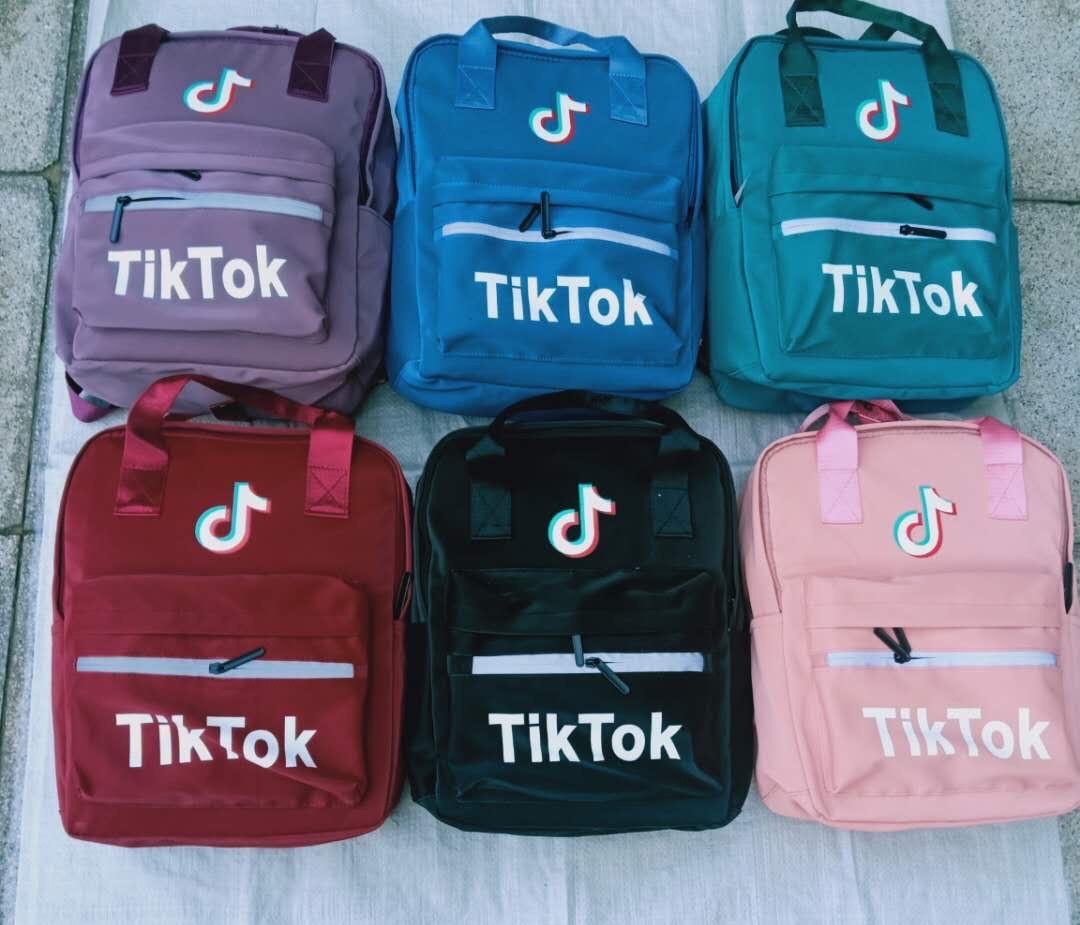 Рюкзак сумка молодежный городской Тик ток. В расцветках