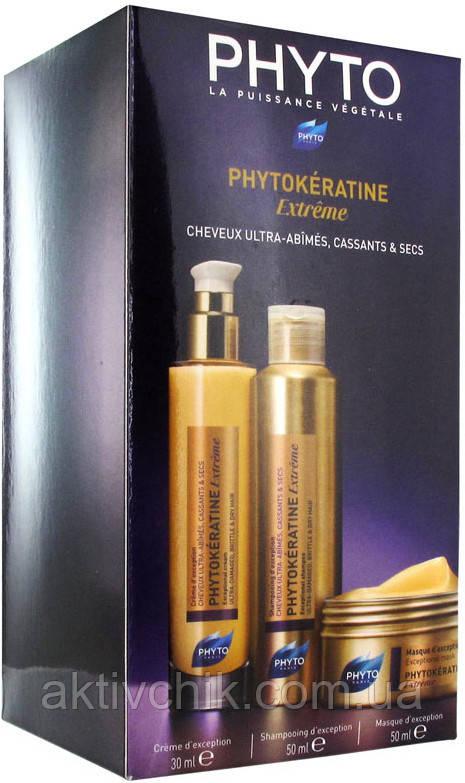 Набір Phyto Phytokeratine Extreme