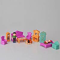 Кукольный домик с куклами и мебелью T49-005