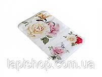 Банный коврик антискользящий хлопковый Розы, фото 2