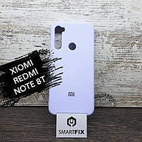Силиконовый чехол для Xiaomi Redmi Note 8T Full Soft Сиреневый, фото 1