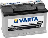 Аккумуляторная батарея 70Ач EN640А 0(R+) LB3 (278x175x175) BlackDynamic (производство VARTA)