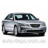 Чохли на сидіння Хундай Соната 5 НФ, Авточохли для Hyundai NF Sonata V 2004-2010 повний комплект Nika, фото 3