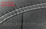 Чохли на сидіння Хундай Соната 5 НФ, Авточохли для Hyundai NF Sonata V 2004-2010 повний комплект Nika, фото 5