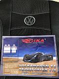Авточохли Volkswagen T5 1+2 2003- (2 підлокітника) Nika, фото 2