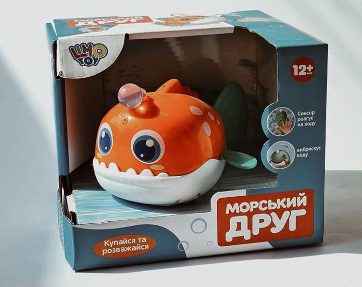 """Игрушка для ванны """"Морской друг"""", LimoToy, 8103М"""