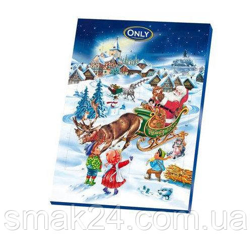 Адвент календарь шоколадный Only Австрия 75г