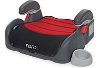 Бустер детский автомобильный El Camino ME 1044 RORO красный