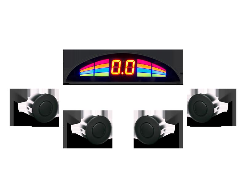Парктронік GT P Rainbow 4 black (P RB4 Black)