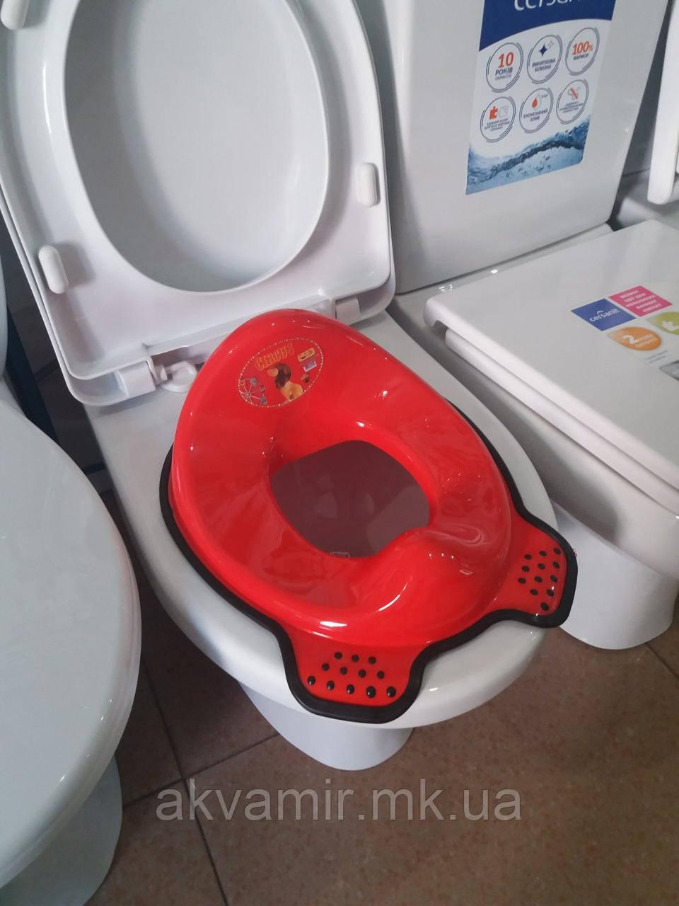 Детское сиденье-адаптер для унитаза (пластик)
