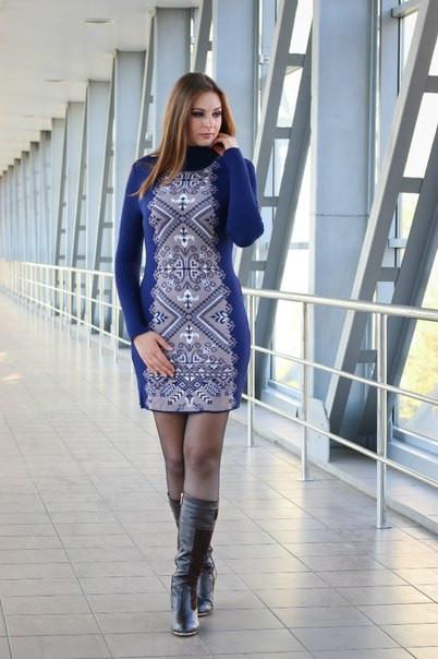 Сукня в'язана жіноча - Ольга