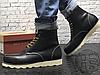 Зимние ботинки Red Wing USA Classic Moc 6-inch Boot 8424890 Black 8849 (нат. мех), фото 3