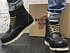 Зимние ботинки Red Wing USA Classic Moc 6-inch Boot 8424890 Black 8849 (нат. мех), фото 4