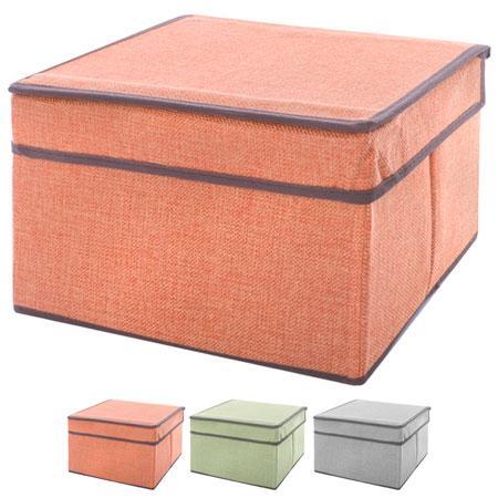 """Ящик для хранения вещей """"Еліт"""" 25*20*17см R15771"""