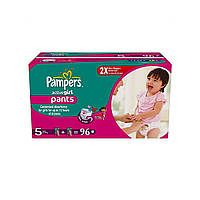 Трусики Pampers Active Girl Pants 5 ( 12-18 ) 96 шт!