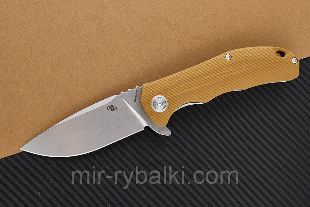 Нож складной CH 3504-G10-brown