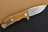 Нож складной CH 3504-G10-brown, фото 2