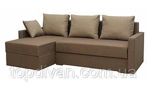 """Угловой диван """"Милос"""" угол взаимозаменяемый. Люкс 03. Габариты: 2,30 х 1,45  Спальное место: 2,00 х 1,40"""
