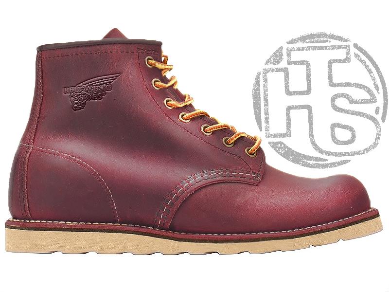 Зимові черевики Red Wing USA Rover 6-inch boot 8424890 Bordo 2952 (нат. хутро)