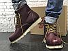 Зимові черевики Red Wing USA Rover 6-inch boot 8424890 Bordo 2952 (нат. хутро), фото 2